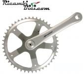 GUARNITURA FIXED PROWHEEL ECO 46 DENTI SILVER