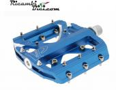 PEDALI VP GRIPPER FIXED BMX FREE RIDE ALLUMINIO BLU