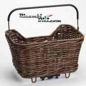 CESTINO BICI RACKTIME BASKIT WILLOW IN VIMINI NATUALE