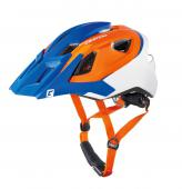CASCO CRATONI MTB ALL RIDE BLU-ARANCIO-OPACO