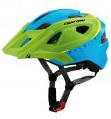 CASCO MTB CRATONI ALL RIDE VERDE-BLU