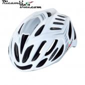 CASCO CICLISMO SUOMY TIMELESS BIANCO-SILVER