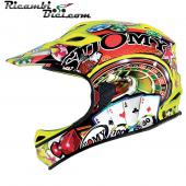 CASCO INTEGRALE DOWNHILL SUOMY JUMPER CARBON SPECIAL GAMBLE