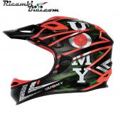CASCO INTEGRALE DOWNHILL SUOMY JUMPER CARBON SPECIAL GUN