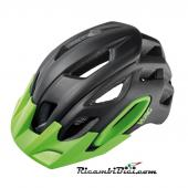CASCO MTB OAK CONEHEAD TECH NERO VERDE