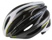 CASCO ALPINA CORSA CYBRIC ROAD NERO-TITANIO